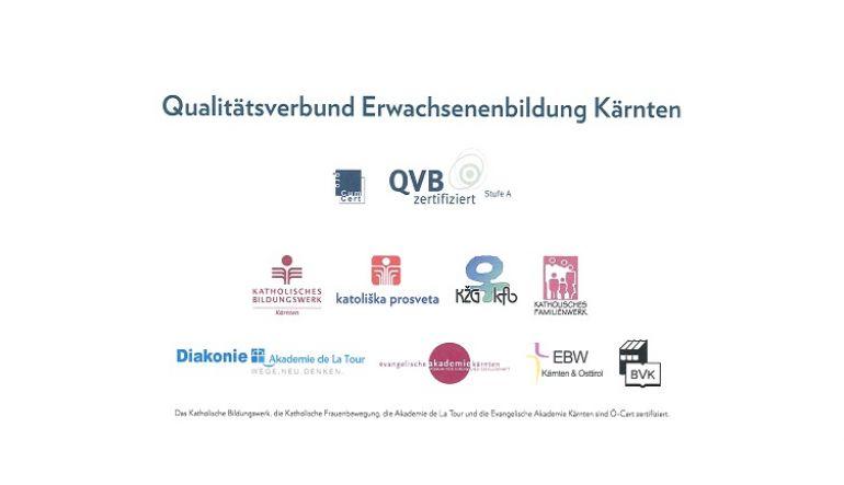 Übersicht Qualitätsverbund Erwachsenenbildung Kärnten