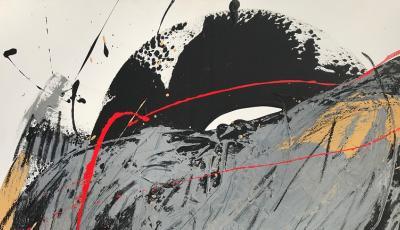 """Teilausschnitt vom Bild Herta Hofer Richard Strauss """"Verirrung"""" - aus der Alpensymphonie"""
