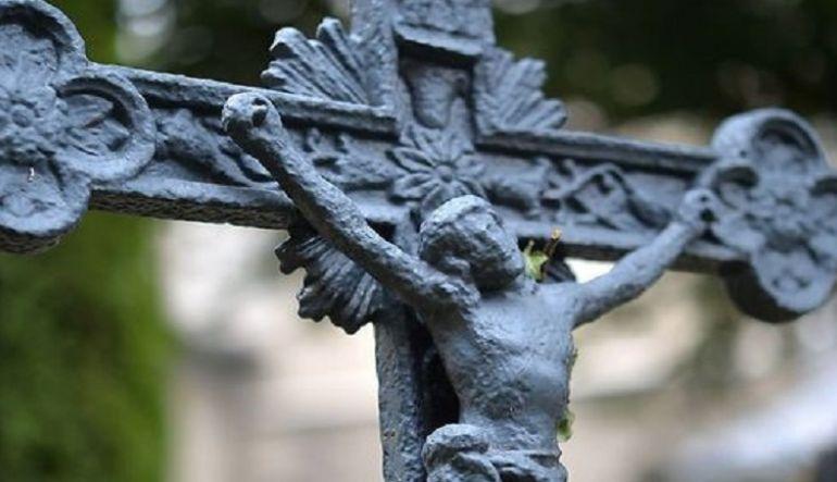 Bild Jesus am Kreuz (Teilausschnitt)