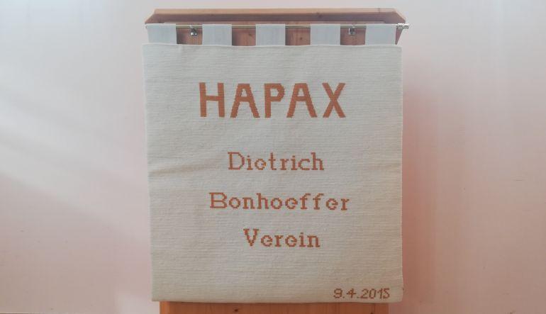 Foto von HAPAX Antependium, Ausschnitt (Bildrechte Verein HAPAX)