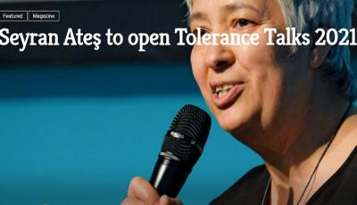 Seyran Ates to open Tolerance Talks Denk.Raum.Fresach 2021 (Foto DRF cut)