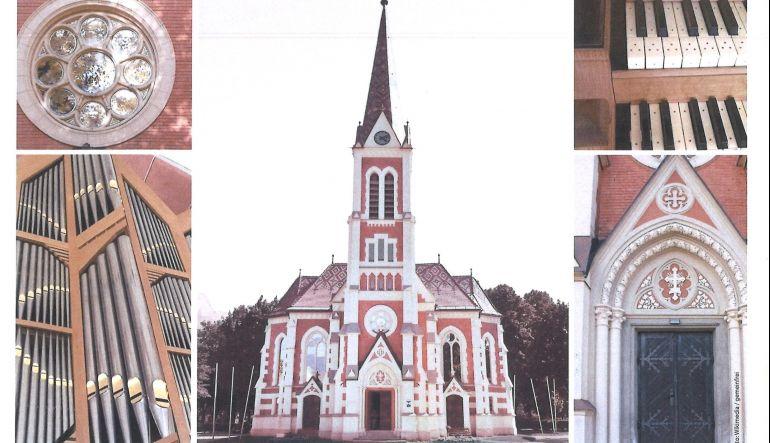 Teilausschnitt Plakat Einladung zur Geistlichen Abendmusik