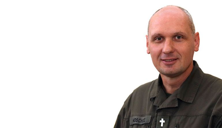 Vizeleutnant Walter Woschitz, Militärpfarradjunkt & Militärlektor (Evang. Miltärseelsorge Kärnten & Osttirol, Khevenhüller-Kaserne)