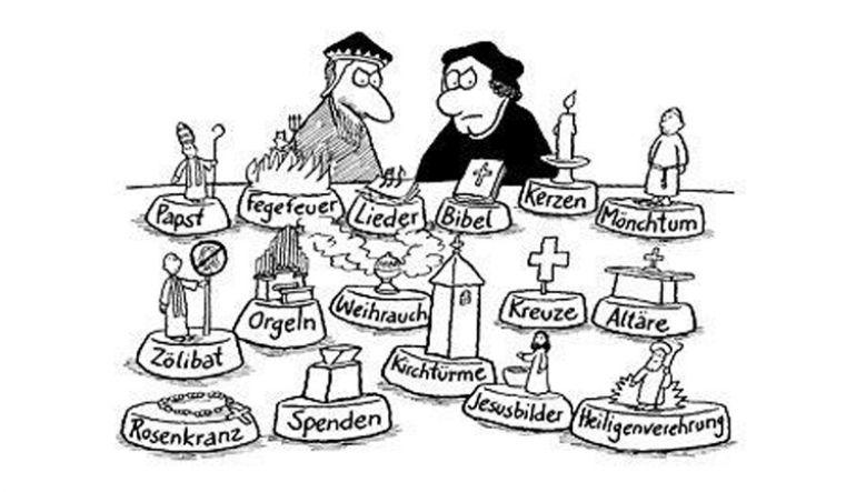 Bild 1: Typisch evangelisch